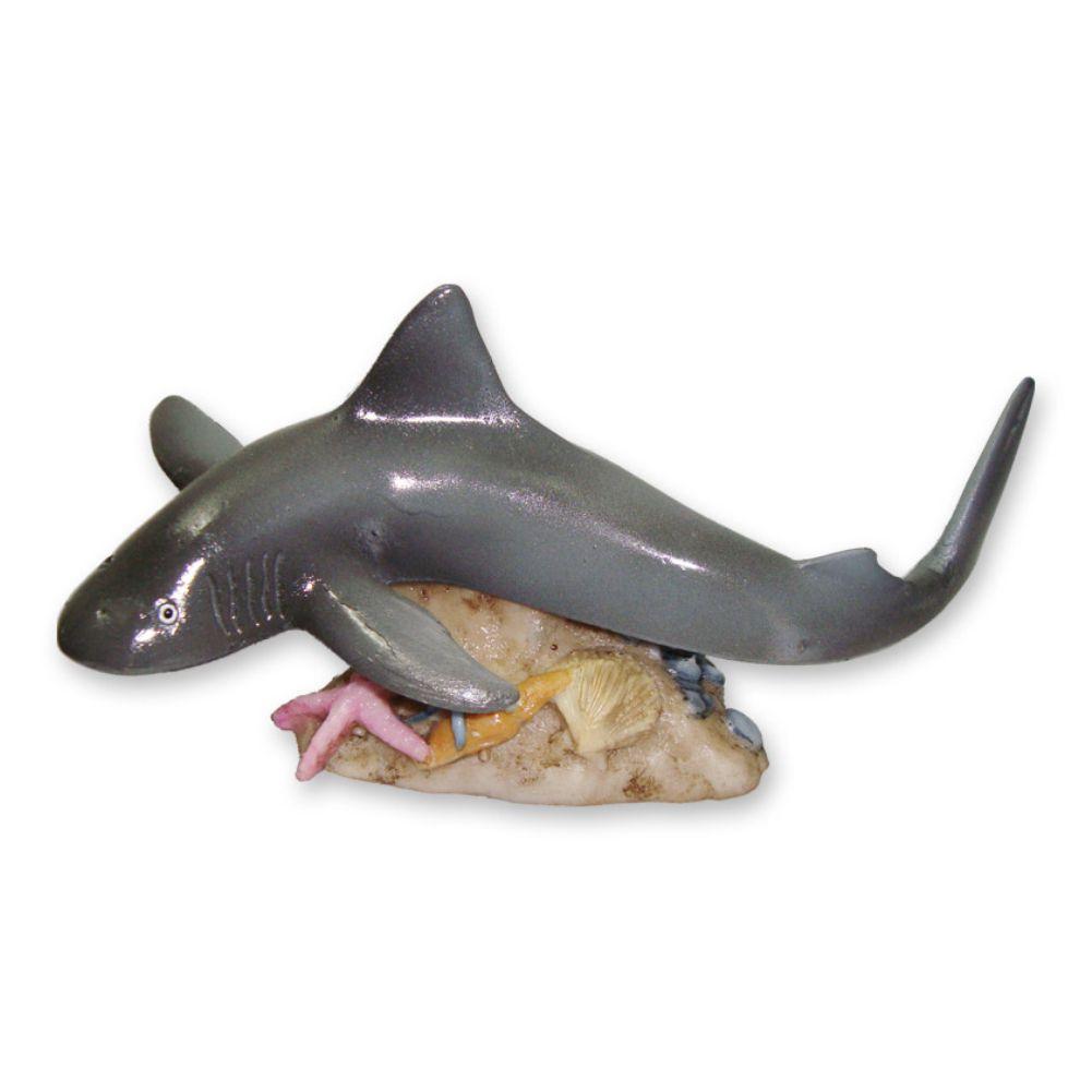Tubarão enfeite decoração para aquário.