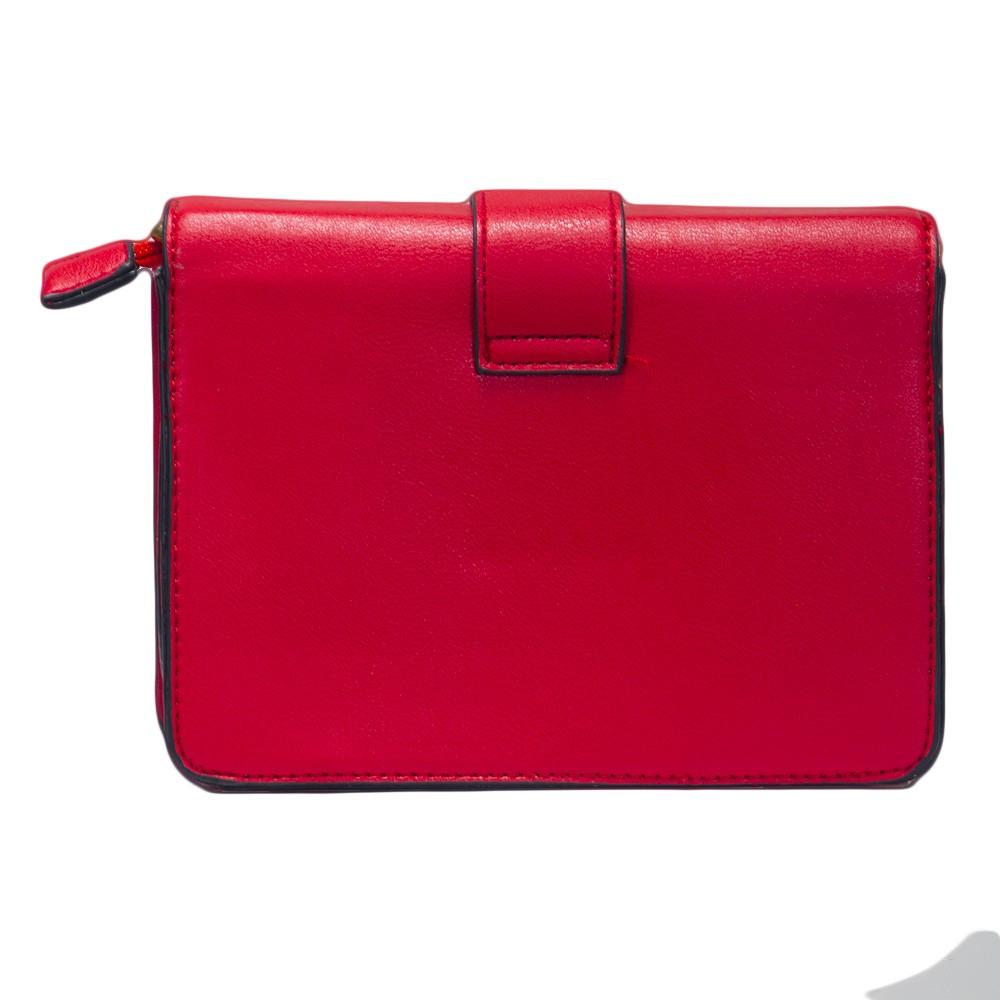 Bolsa Shoulder Bag Vermelha com Alça Removível  - Prime Bolsas