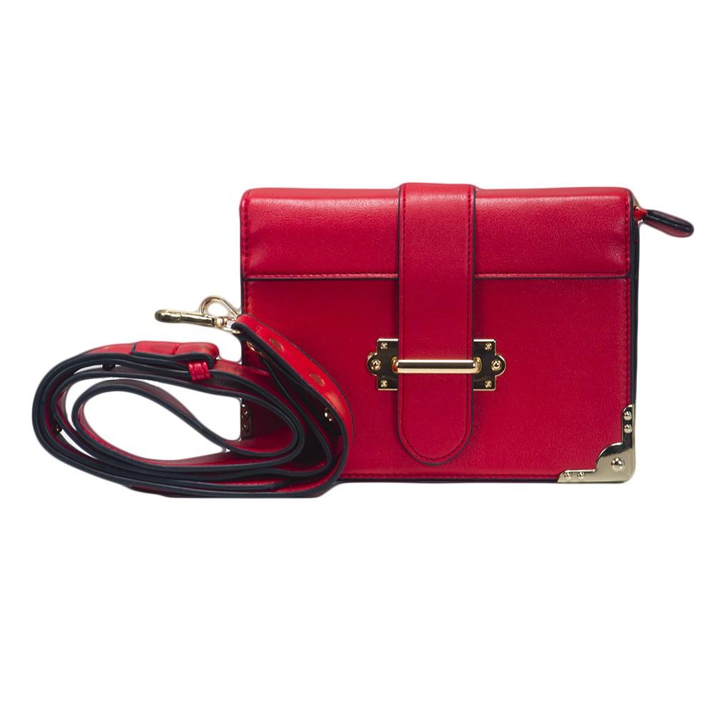 Bolsa Shoulder Bag Vermelha com Alça Removível