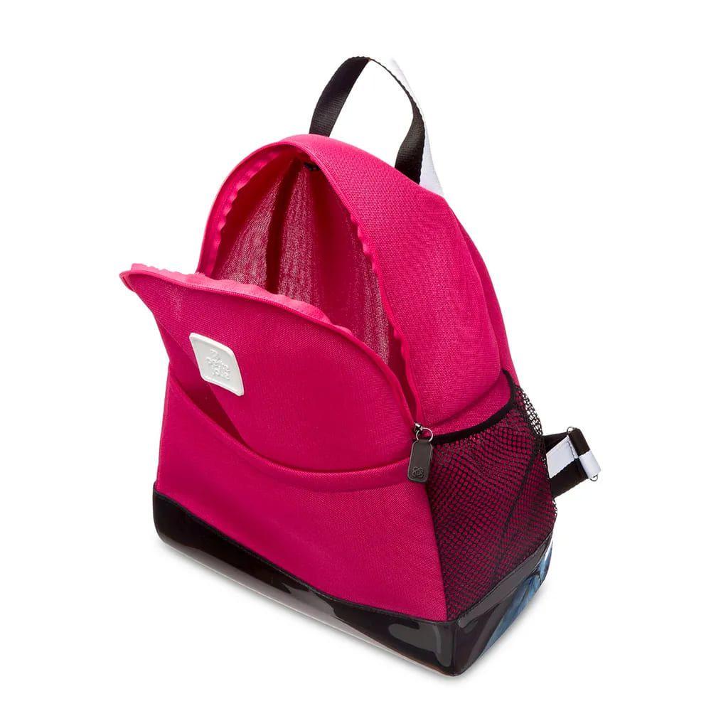 Bolsa Mochila Petite Jolie Academia Rosa PJ4685  - Prime Bolsas