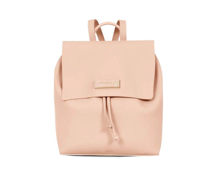 5902604838 Bolsa Mochila Petite Jolie Ruber Bag PJ3770 Nude - Prime Bolsas ...