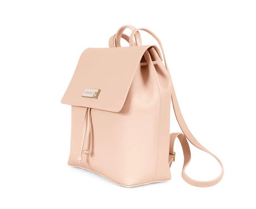 b7df03fb71 ... Bolsa Mochila Petite Jolie Ruber Bag PJ3770 Nude - Prime Bolsas ...
