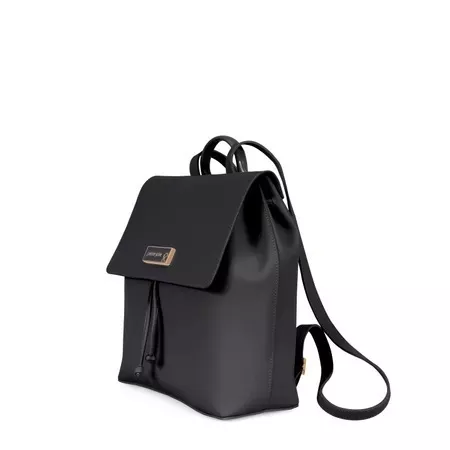 Bolsa Mochila Petite Jolie Ruber Bag PJ3770 Preto  - Prime Bolsas