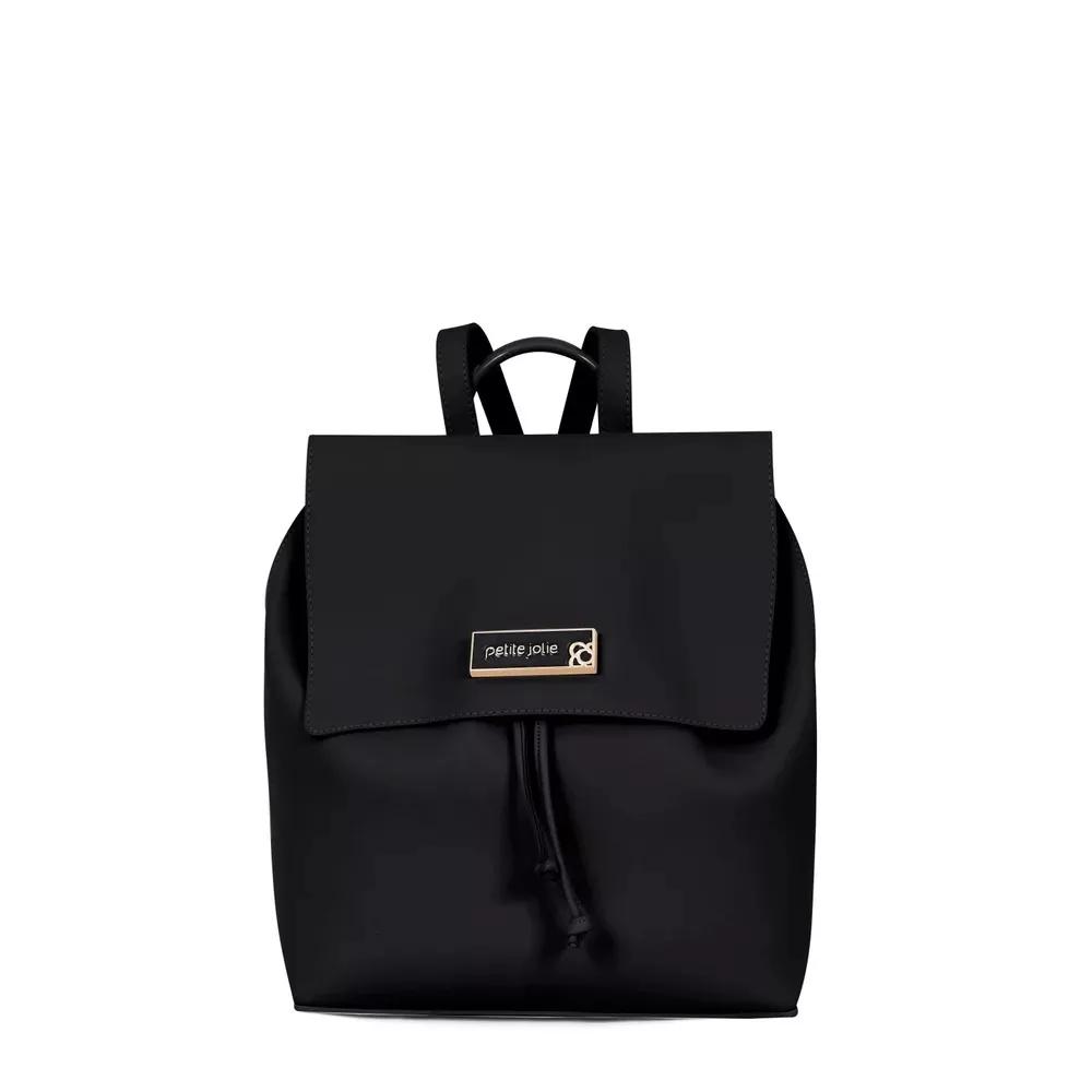 1f41740bb9 Bolsa Mochila Petite Jolie Ruber Bag PJ3770 Preto - Prime Bolsas ...