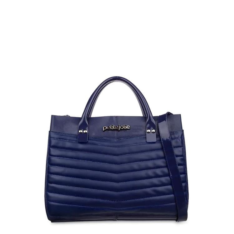 Bolsa Petite Jolie Azul PJ4206 Modelo Worky Bag  - Prime Bolsas