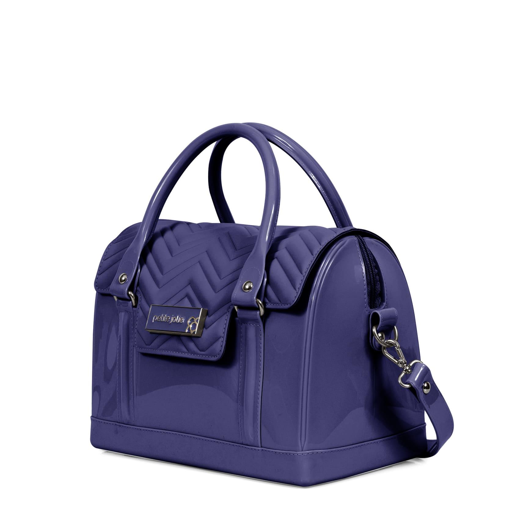 Bolsa Petite Jolie Bloom Maleta PJ3903 Azul  - Prime Bolsas