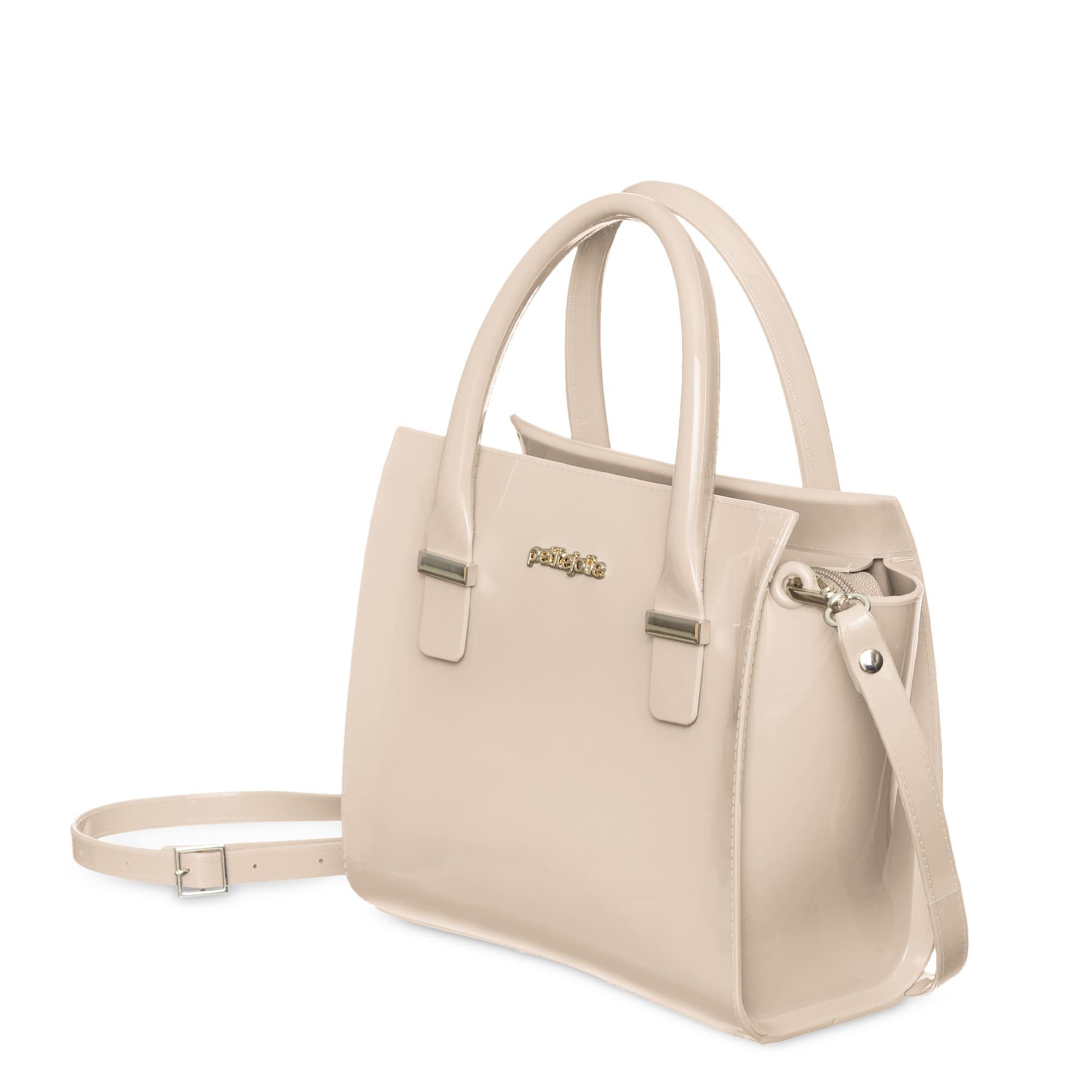 Bolsa Petite Jolie Love Bag PJ5214 Nude  - Prime Bolsas