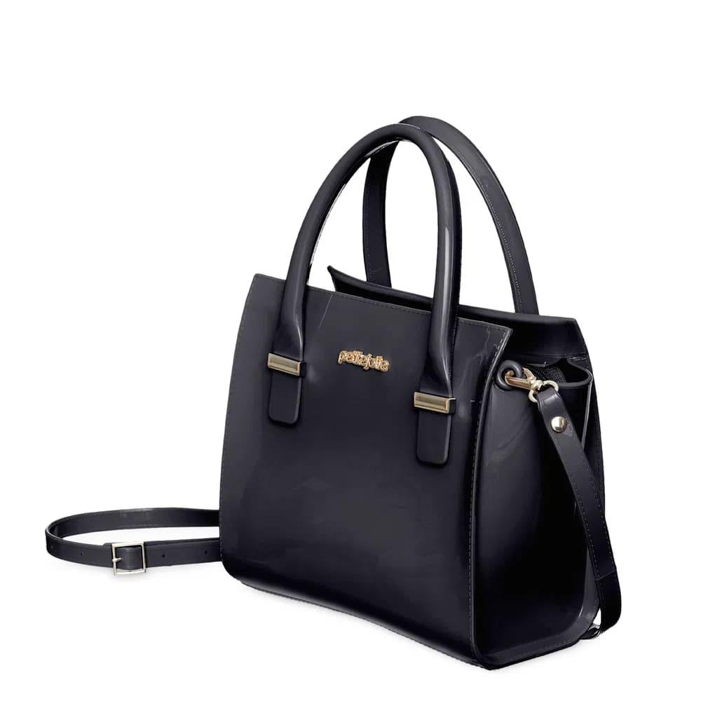 Bolsa Petite Jolie Love Bag PJ5214 Preta ou Nude  - Prime Bolsas
