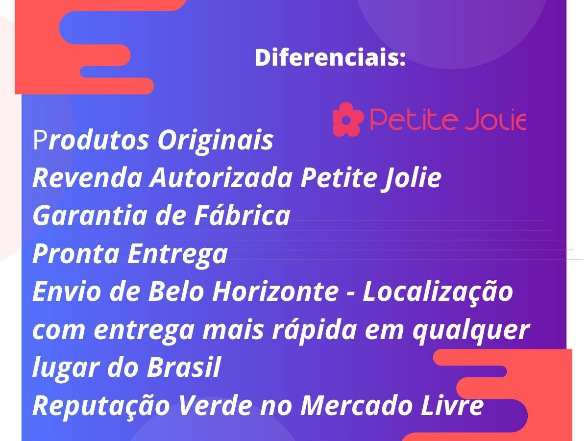 Bolsa Petite Jolie Love Preta PJ2121 Quadrada Média Tradicional  - Prime Bolsas