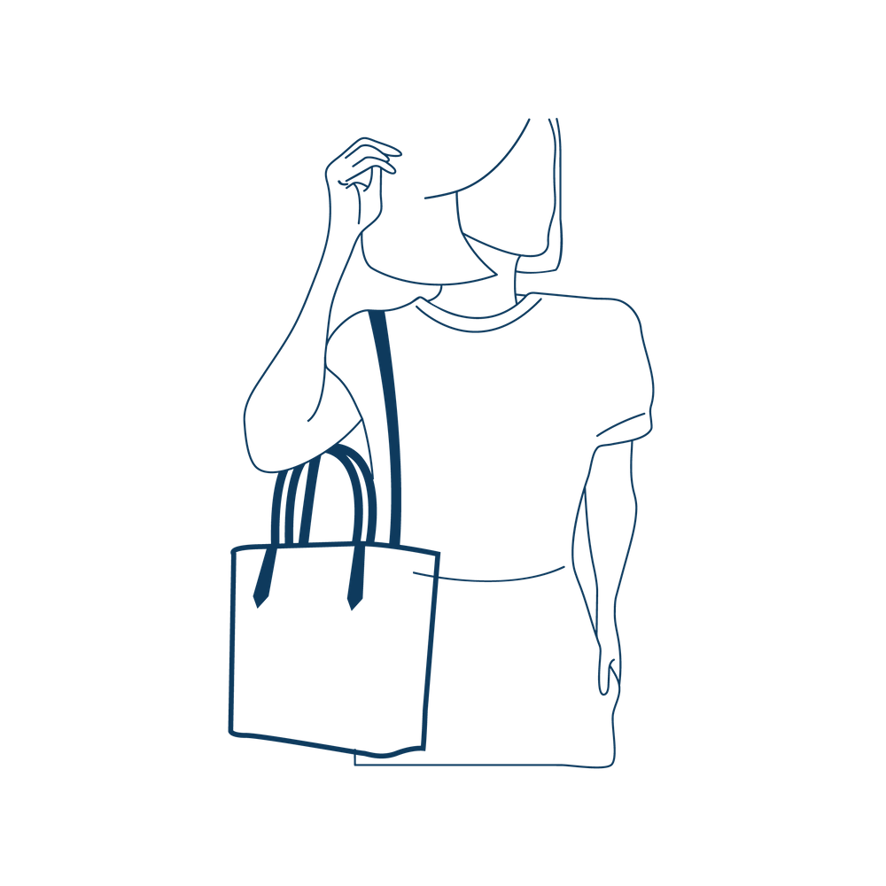 Bolsa Petite Jolie Média Beverly PJ4498 Preta, Azul ou Nude  - Prime Bolsas