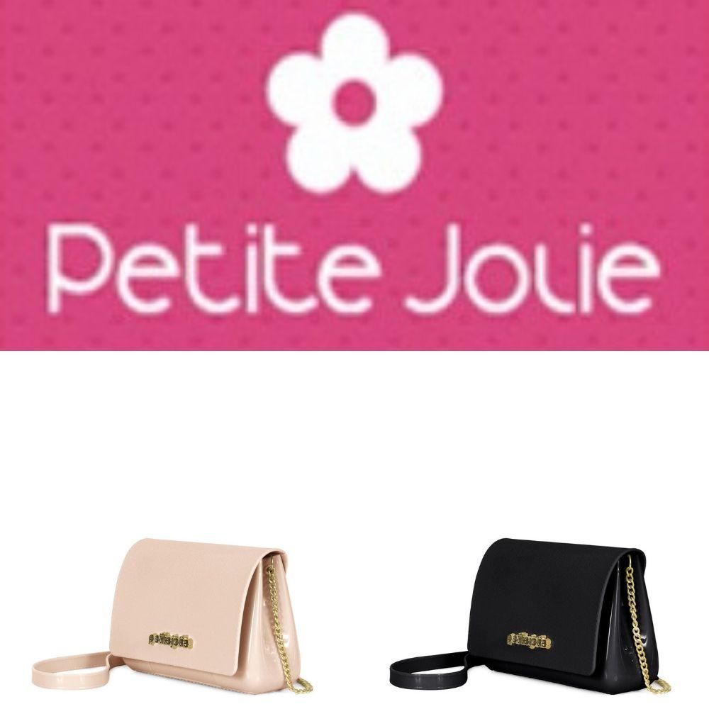 Bolsa Petite Jolie Preta - One PJ3528  - Prime Bolsas