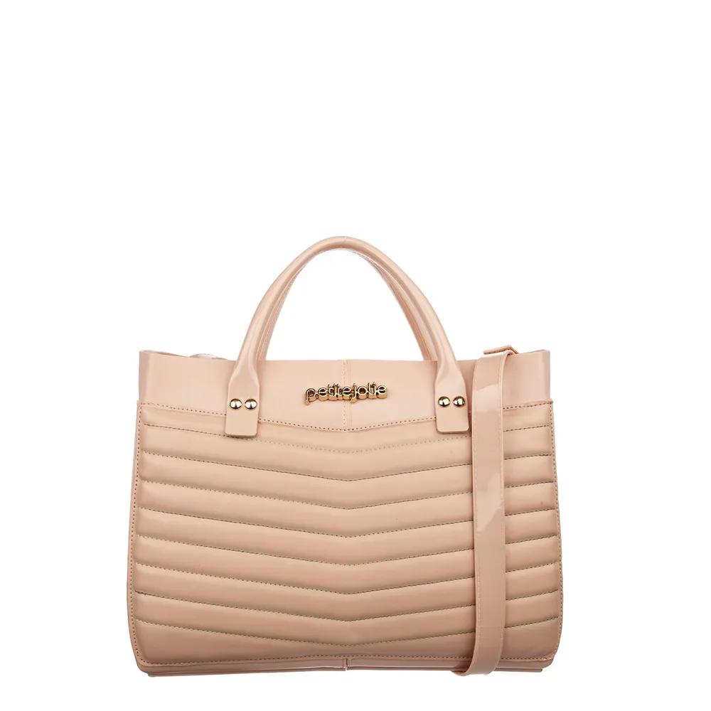 Bolsa Petite Jolie Worky Bag Nude PJ4206  - Prime Bolsas