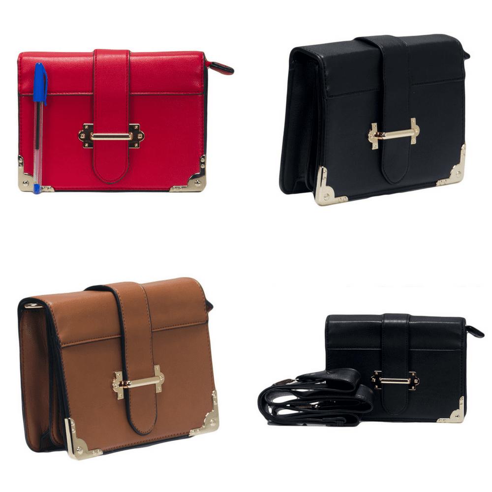 Bolsa Shoulder Bag Preta Pequena  - Prime Bolsas