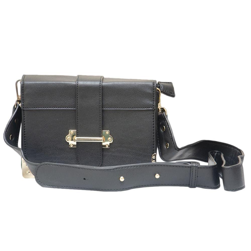 Bolsa Shoulder Bag Preta Pequena