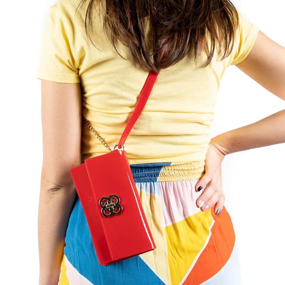 Bolsa Carteira Petite Jolie Long Wallet Clutch que Vira Pochete  - Prime Bolsas