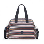 Bolsa Grande July Bag Kipling Multi Stripes