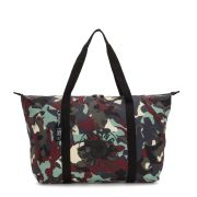 Bolsa Grande Kipling Art Packable Camo Light
