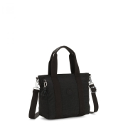 Bolsa Pequena Asseni Kipling Black Noir