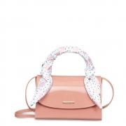 Bolsa Pequena Com Lenço Petite  Jolie Alicia Rosa/Antigo PJ10135IN