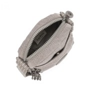 Bolsa Pequena Kipling Hisa Grey Beige