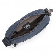 Bolsa Pequena Kipling Hisa Grey Slate T