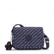 Bolsa Pequena Kipling Ikene Blue Dash C