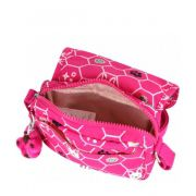 Bolsa Pequena Kipling Ikene Pink Dog