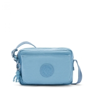 Bolsa Pequena Transversal Kipling Abanu Blue Mist