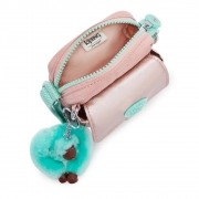 Bolsa Pequena Transversal Teddy Kipling Cotton Candy Bl