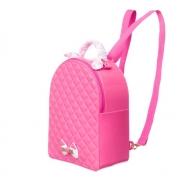 Mochila Infantil  Petite Jolie Click PJ10246IN Rosa Neon / Branco