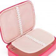 Estojo Grande 100 Pens Kipling Fiesta Pink