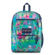 Mochila Big Student Jansport Estampada Eletric Palm