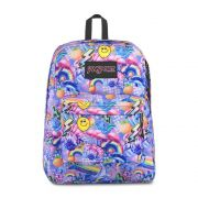 Mochila Jansport Black Label Superbreak Rainbow Delight