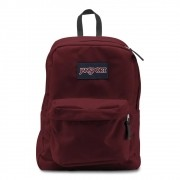 Mochila Superbreak JansPort Viking Red Bordô