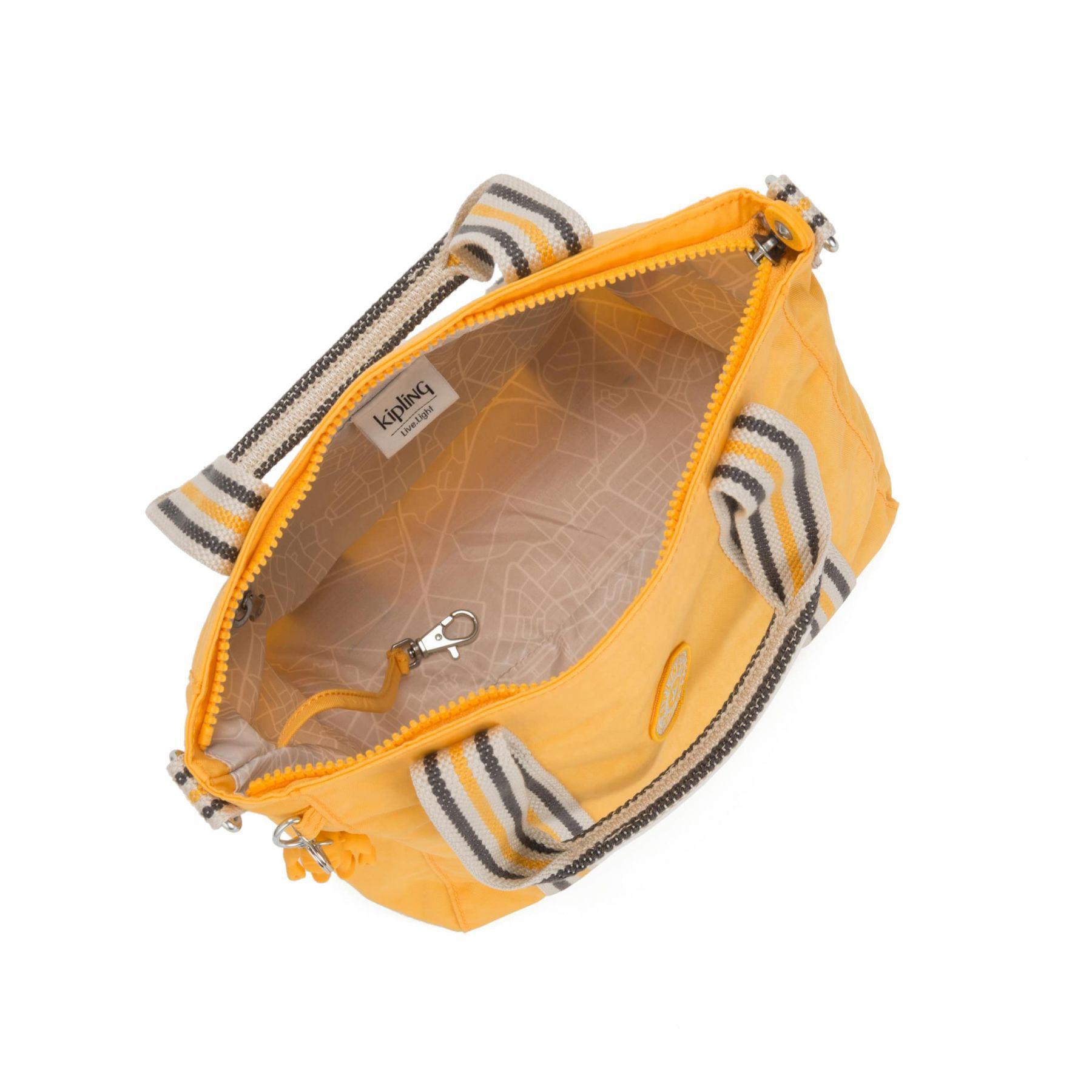 Bolsa Asseni Kipling Vivid Yellow