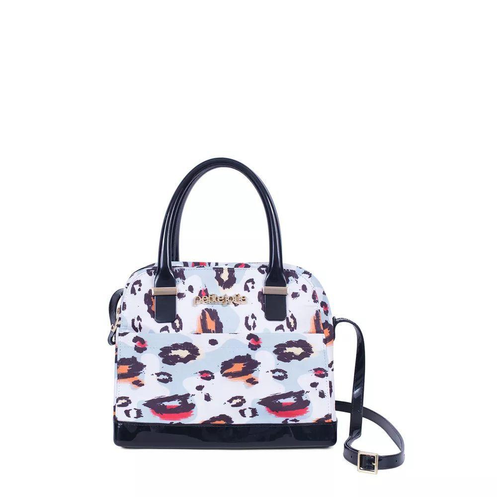 Bolsa Daffy Petite Jolie Pj3345 Estampa Onça