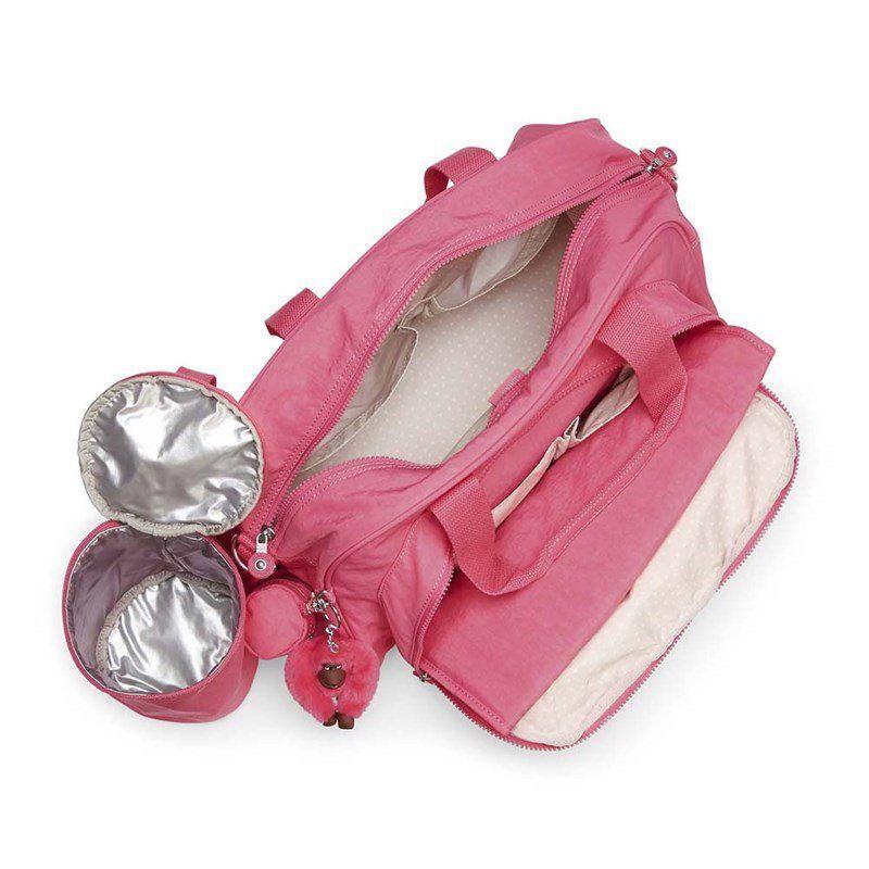 Bolsa De Maternidade Kipling Camama  City Pink