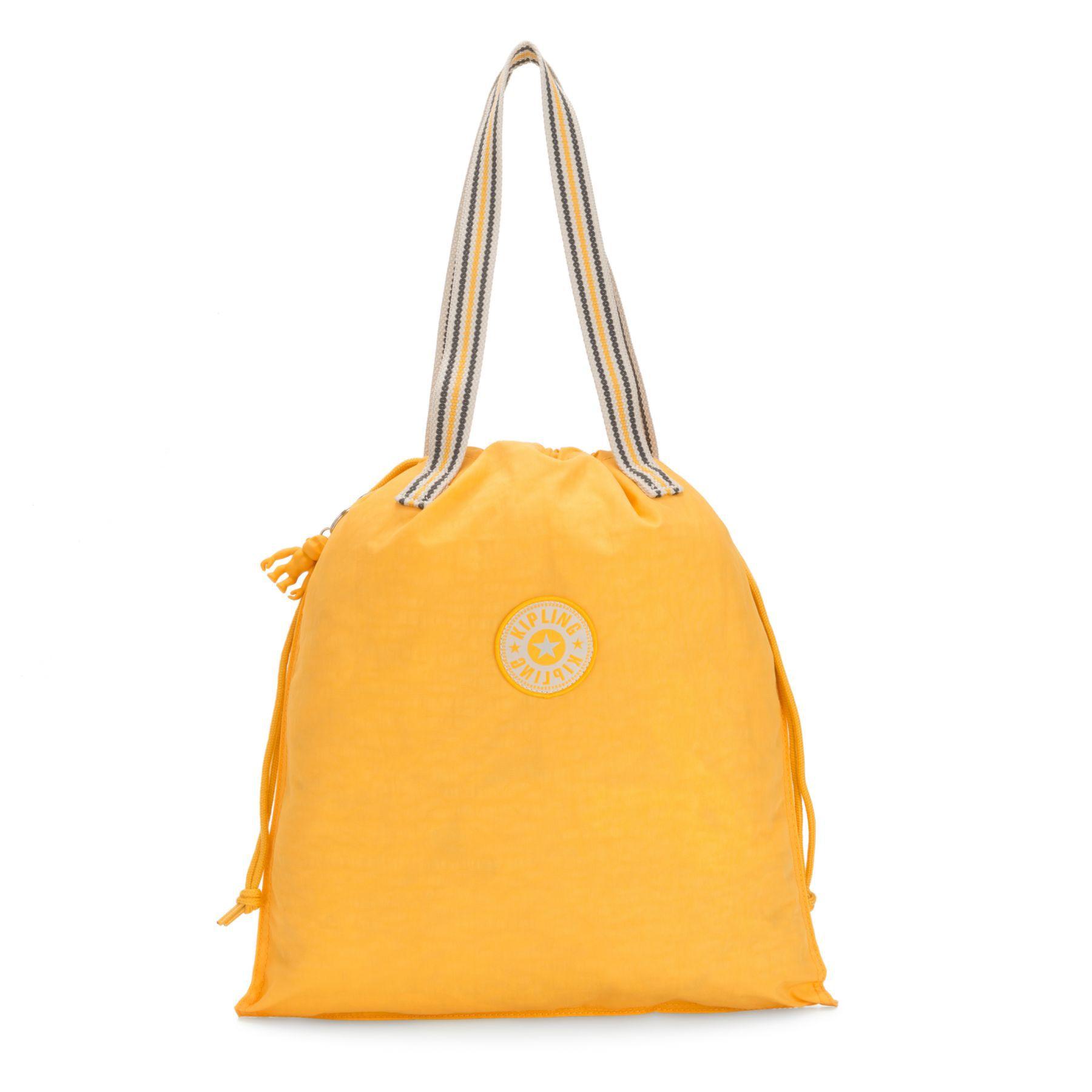 Bolsa de Ombro New Hiphurray Kipling Vivid Yellow