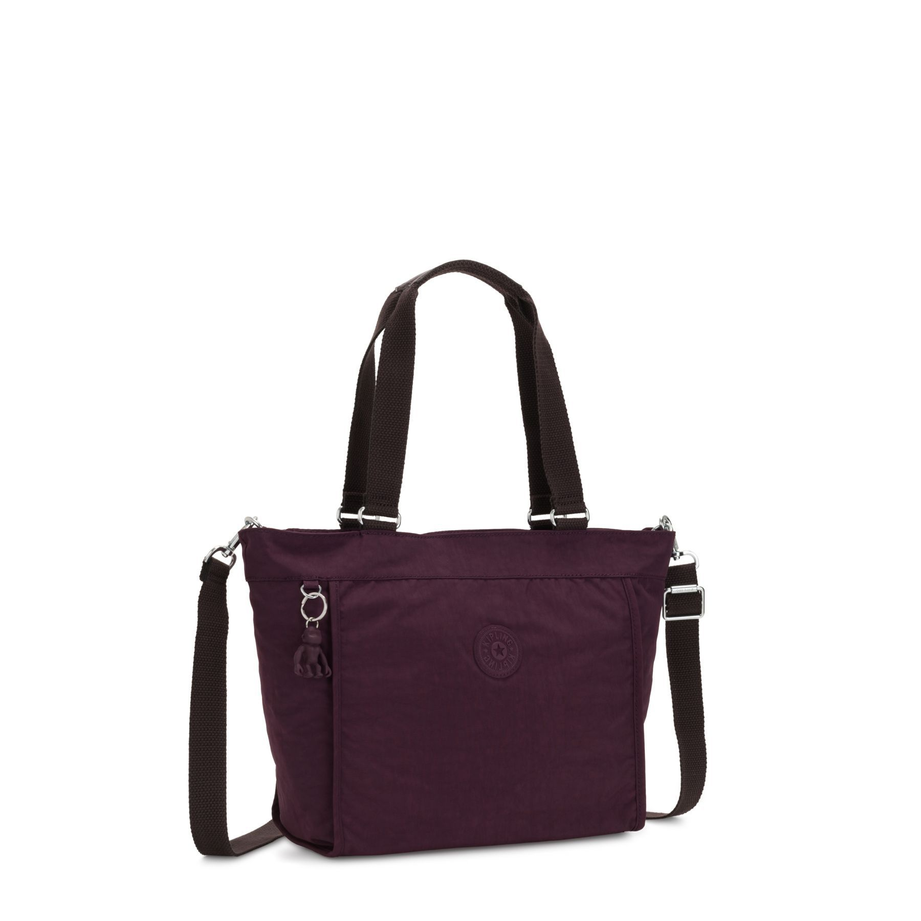 Bolsa de Ombro New Shopper Kipling Dark Plum