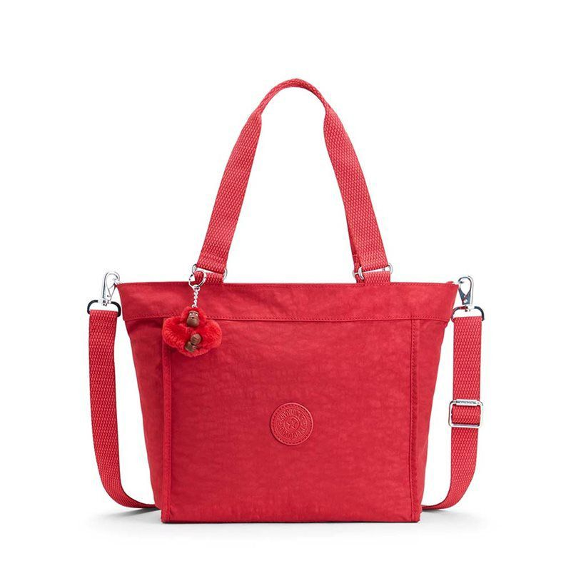 Bolsa de Ombro New Shopper Kipling Radiant Red