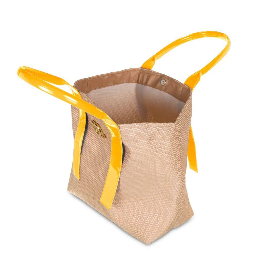 Bolsa de Praia Petite Jolie Jill PJ4589 Amarelo