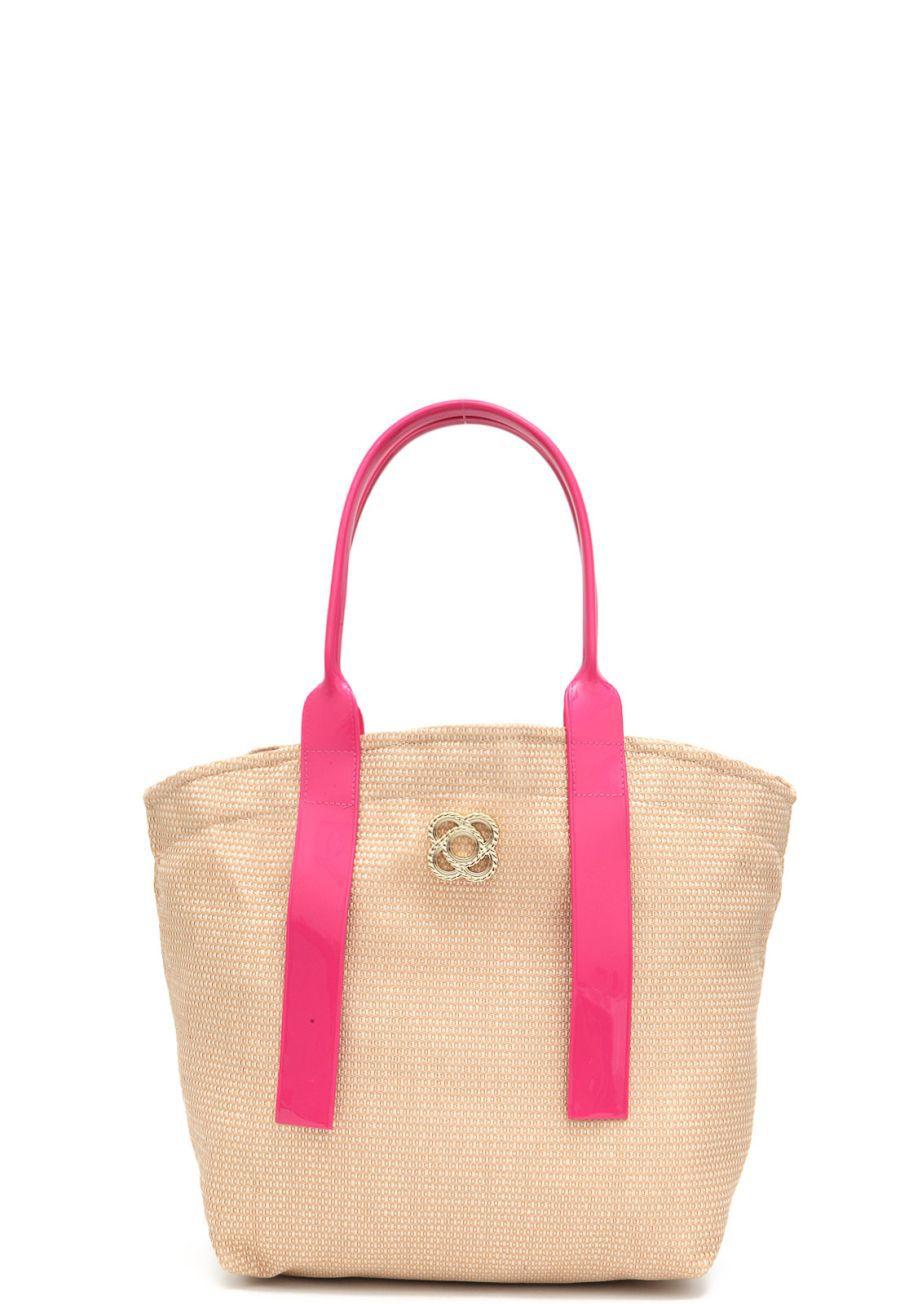 Bolsa de Praia Petite Jolie Jill PJ4589 Pink