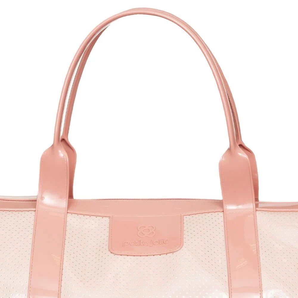 Bolsa de Viagem Petite Jolie Weekend Rosa Antigo Candy PJ10039