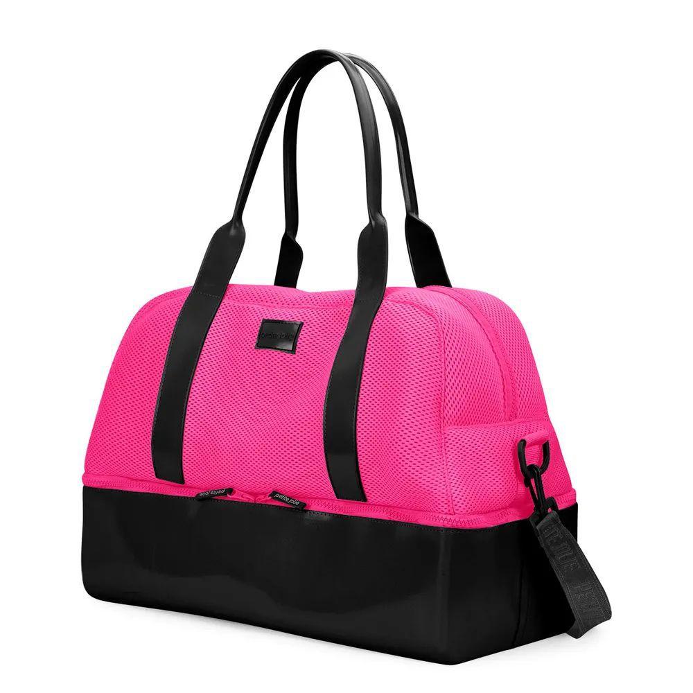 Bolsa de Viagem Weekend Petite Jolie PJ3540 Pink Preto