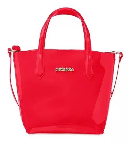 Bolsa Grande Beverly Petite Jolie PJ4498 Vermelha