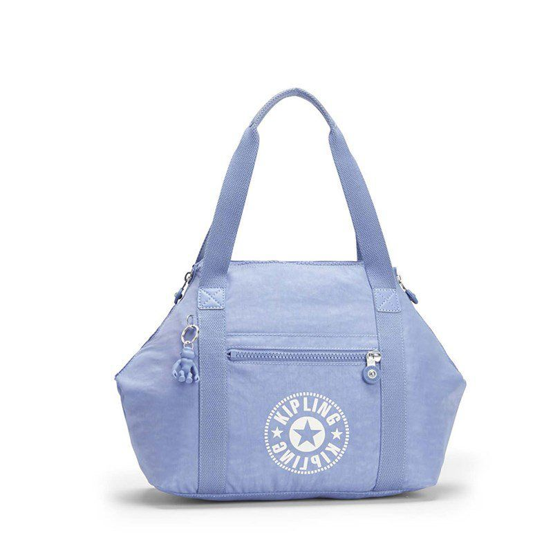 Bolsa Grande Kipling Art Azul Timid Blue