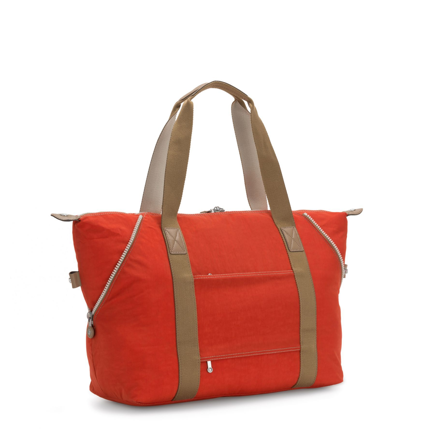 Bolsa Grande Kipling Art M Funky Orange