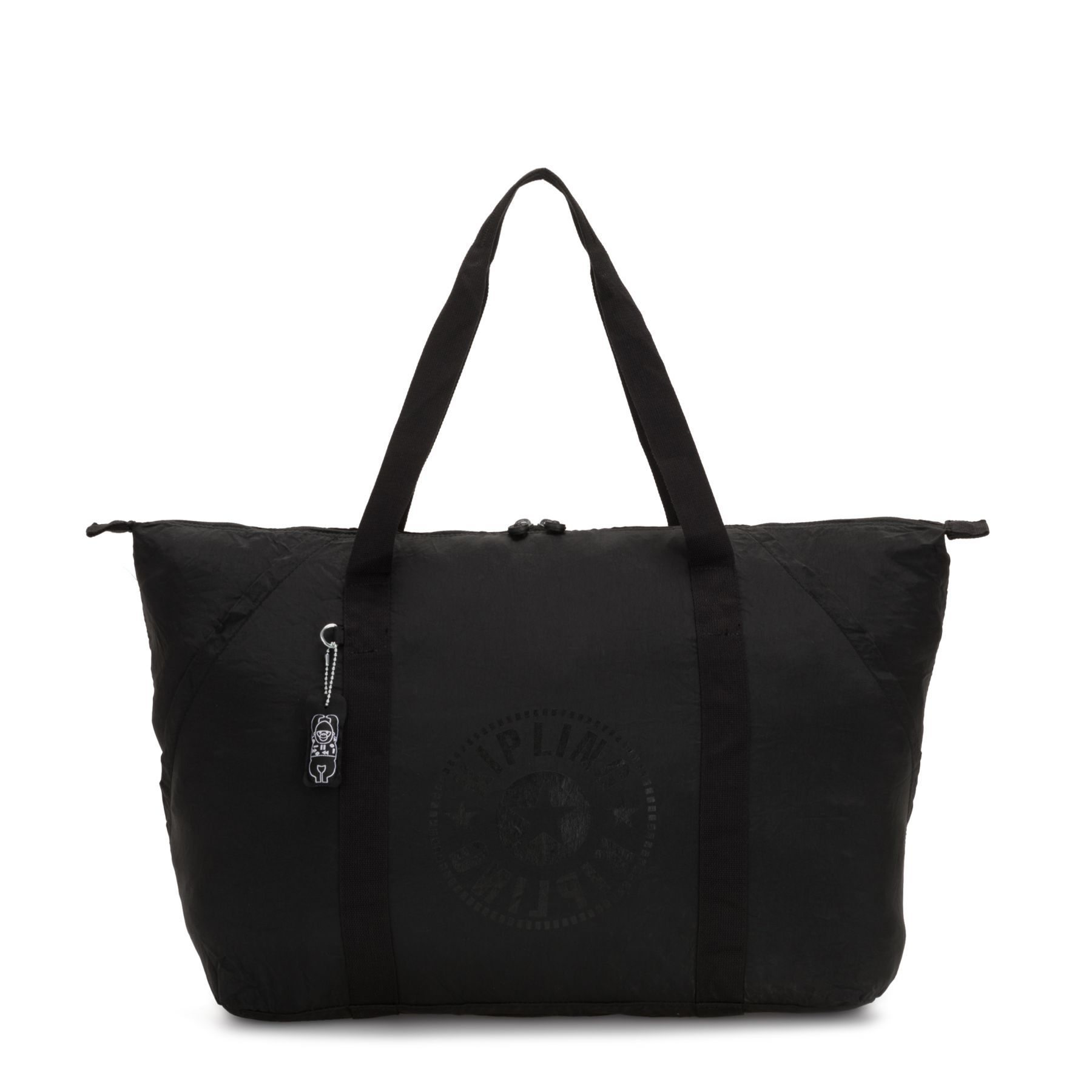 Bolsa Grande Kipling Art Packable Black Light