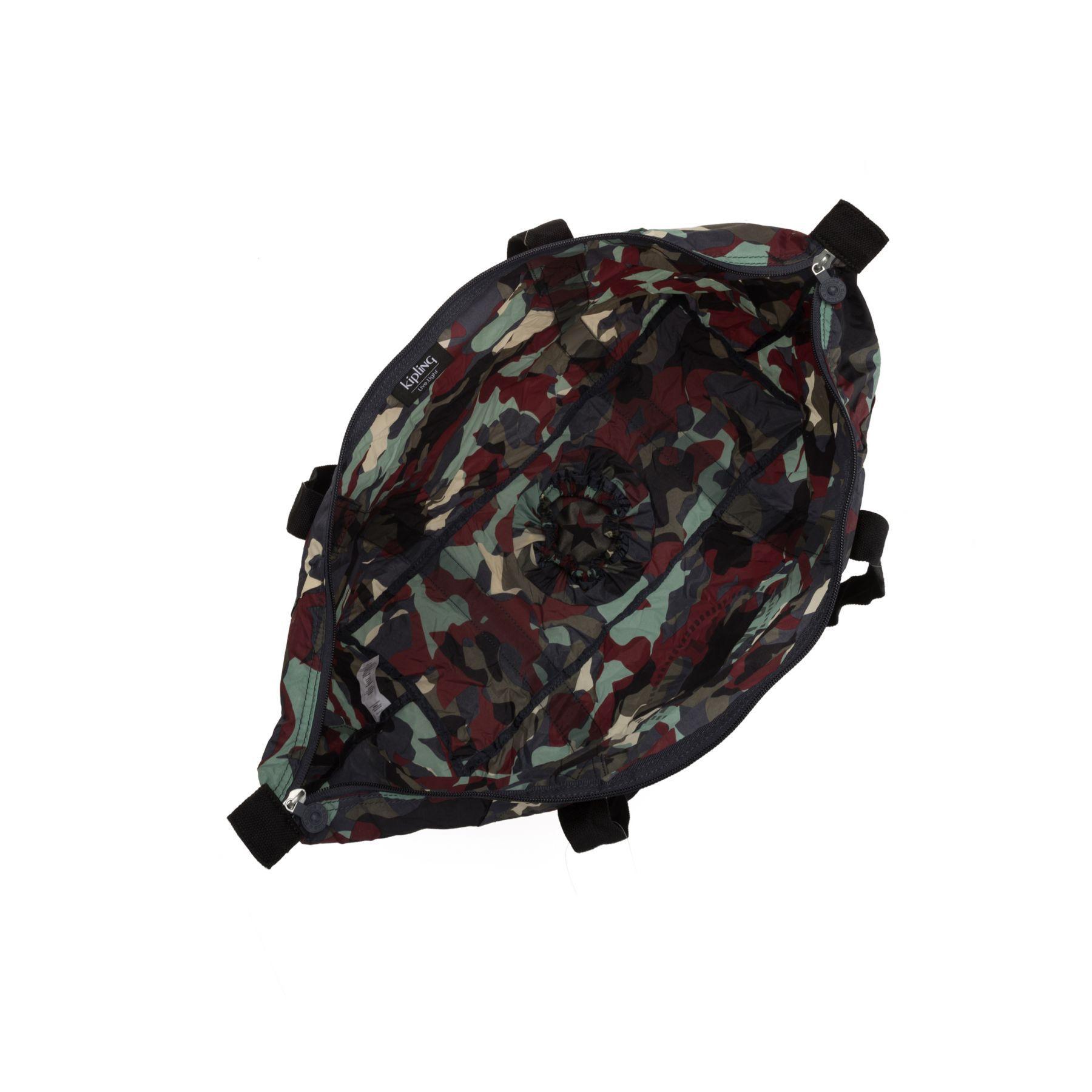 Bolsa Grande Kipling Art Packable Camo Light