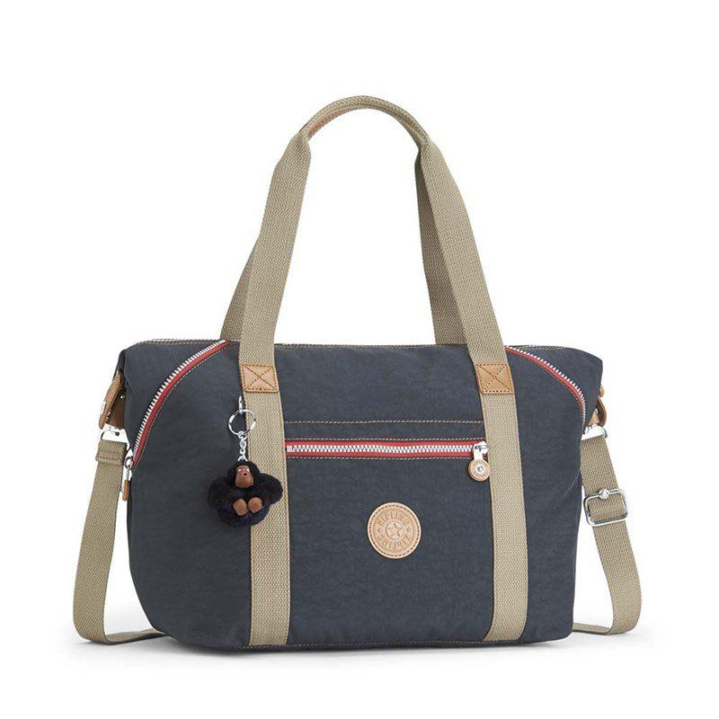 Bolsa Grande Kipling Art True Navy